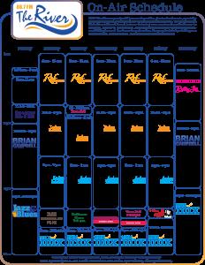 on-Air Schedule June 2016 update